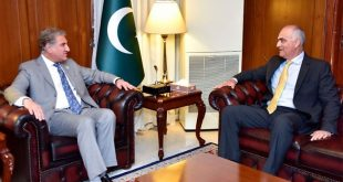 FM Qureshi asks Umar Farooq to solve problems of Pakistanis in Jordan on priority basis