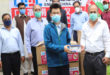 Chinese EEG donates face mask for NTDC employees
