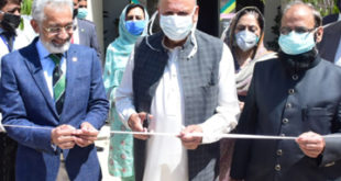Sarwar inaugurates 'Protect Pakistan Corona Research Centre' and 'Anti-septic Tunnel' at UHS