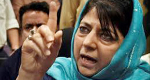 "Detained IOJK ""CM"" Mehbooba Mufti shifted to her residence, detention to continue:"