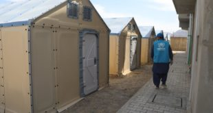 UNHCR delivers housing units to support quarantine facilities in Balochistan