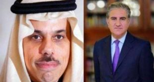 FM Qureshi discusses coronavirus pandemic with Saudi counterpart