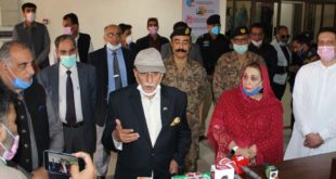 PM AJK inaugurates state of the art Corona Isolation Hospital
