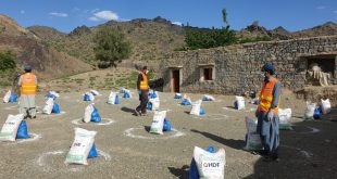 HDF distributes ration among 350 families in rural parts of the district