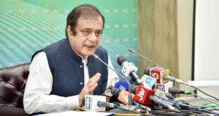 Resolving media industry problems govt's top priority: Shibli Faraz