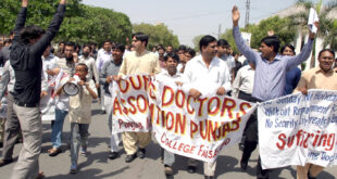Young Doctor Association Balochistan President diagnosed Coronavirus