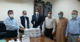 PPP donates PPE and Covid testing kits to AJK