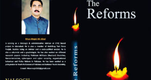 *The Reforms* 2nd Book of Mian Majid Ali Afzal  published.