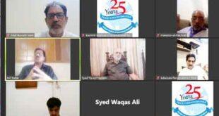 Webinar eulogizes Shaheed Burhan Wani's role in Kashmir freedom struggle: