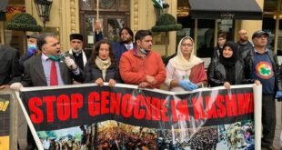 London street echoes with GPKSC-sponsored mass anti-India rally  in front of IHC held to mark 4th anniversary of  Shaheed Burhan Wani
