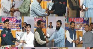 NCHD-VCD gives awards to 7 professionals in recognition to their professional performance