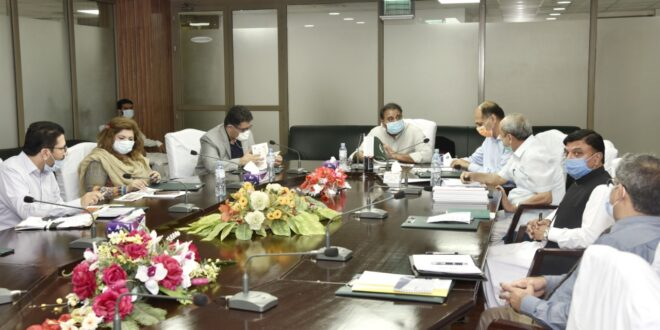 ED Comsats apprise Federal Minister about ongoing programmes