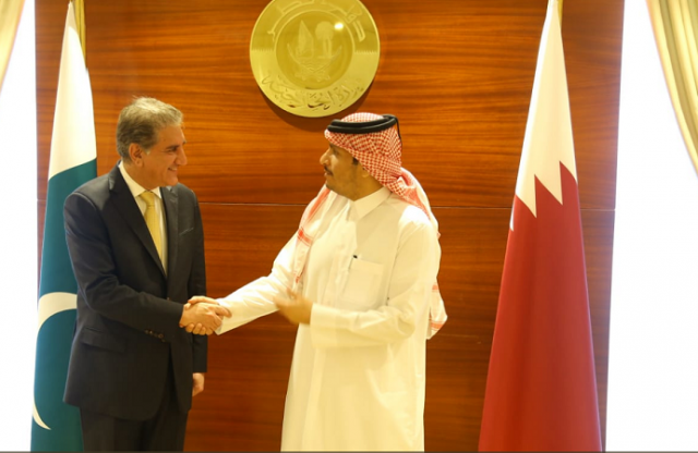 FM, Qatari foreign minister stress on taking practical steps at international level for Afghanistan