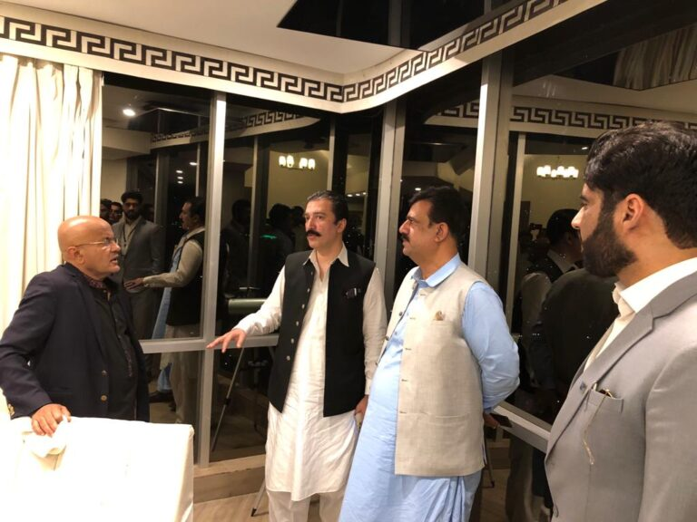 PPP Secretary visits MTBC Office with KC members