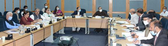 Senate Standing Committee held meeting on planning and development