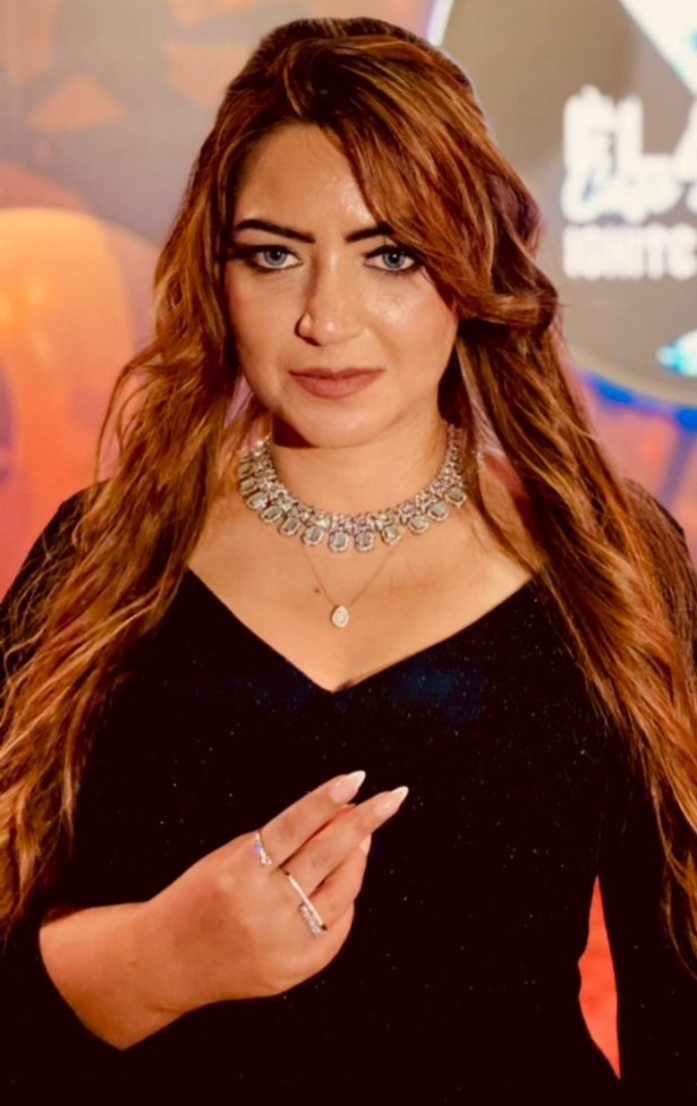 Sonia Majeed First Asian Female Singer who has sung UAE National Anthem.